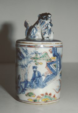WALTERS: Chinese: Covered Enameled Jar 1620