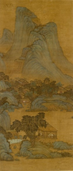 WALTERS: Shih Jui (Chinese): Blue and Green Landscape 1400