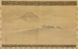 WALTERS: Kano Tsunenobu (Japanese, 1636-1713): Mount Fuji in the Summer 1675