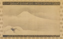 WALTERS: Kano Tsunenobu (Japanese, 1636-1713): Mount Fuji in the Winter 1675