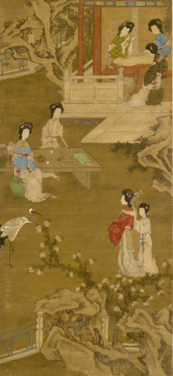 WALTERS: Chinese: Making the Bride's Gown 1700