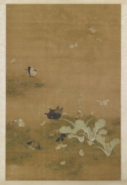 WALTERS: Nianyi [Nien-I] (Chinese, active ca. 15th-16th century): Cabbages and Butterflies 1401