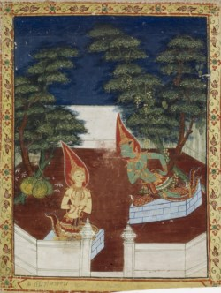 WALTERS: Thai: Vessantara Jataka, Chapter 1 (Ten Boons) 1838