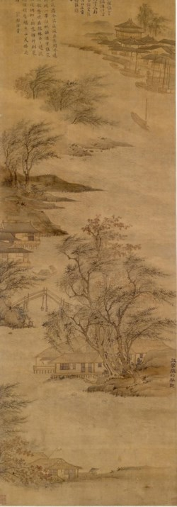 WALTERS: Chinese: River-scape None