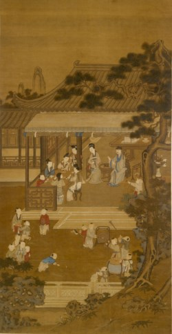 WALTERS: Chinese: Garden Recreations 1701