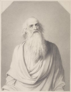 WALTERS: German: Half Length Study of Elderly Man 1800