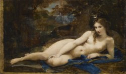 WALTERS: Paul-Jacques-Aimé Baudry (French, 1828-1886): Diana Reposing 1847