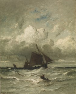 WALTERS: Jules Dupré (French, 1811-1889): At Sea 1858