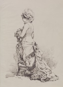 WALTERS: F. Kommerer: Fashionable Woman at Prayer 1800