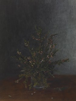 WALTERS: Léon Bonvin (French, 1834-1866): Vase of Heather 1863