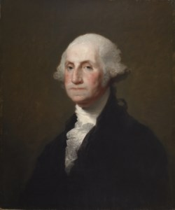 WALTERS: Gilbert Stuart (American, 1755-1828): Portrait of George Washington 1825