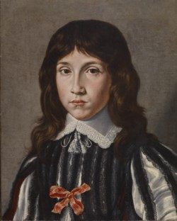 WALTERS: French (?): Portrait Bust of a Young Boy 1600