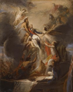 WALTERS: Pierre Nicolas Legrand (French, 1758-1829): The Apotheosis of Nelson 1806