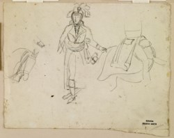 WALTERS: Antoine-Louis Barye (French, 1795-1875): Studies for General Bonaparte 1850