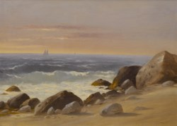 WALTERS: Charles Lanman (American, 1819–1895): Block Island, RI 1801