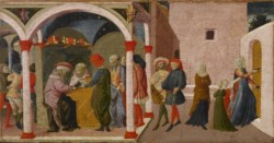 WALTERS: Marco del Buono Giamberti (Italian, 1402-1489): Episodes from the Story of Susannah 1401