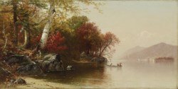 WALTERS: Alfred Thompson Bricher (American, 1837-1908): Lake View 1880