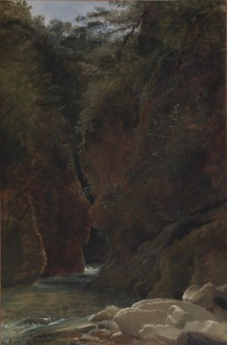 WALTERS: Pierre Athanase Chauvin (French, 1774-1832): View of a Gorge in Italy 1798