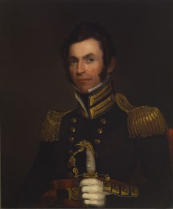 WALTERS: Alfred Jacob Miller (American, 1810-1874): Portrait of Colonel Alexander Smith (1790-1858) 1833