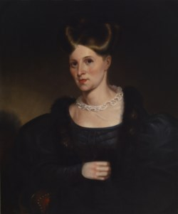 WALTERS: Alfred Jacob Miller (American, 1810-1874): Portrait of Lydia Lloyd Murray 1833