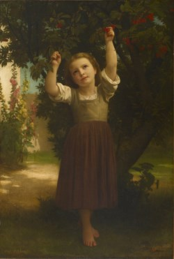 WALTERS: William-Adolphe Bouguereau (French, 1825-1905): The Cherry Picker 1871