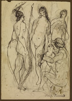 WALTERS: Émile Bernard (French, 1868-1941): Nudes 1901