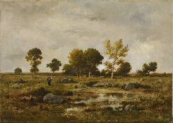 WALTERS: Narcisse Virgile Diaz de la Peña (French, 1807-1876): Effect of Autumn, Fontainebleau 1858