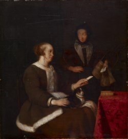 WALTERS: Gabriel Metsu (Dutch, 1629-1667): The Note 1601