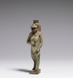 WALTERS: Egyptian: Vessel in the Form of Taweret -400