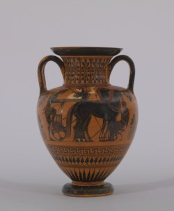 WALTERS: Greek: Black-figure Amphora -530