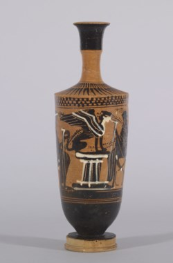 WALTERS: Emporion Painter (Greek, active ca. 500 BC) (?): The Sphinx on a Pedestal -512