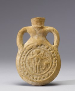 WALTERS: Egyptian: Pilgrim Flask of Saint Menas 500