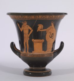 WALTERS: Altamura Painter (Greek, active ca. 475 BC-ca. 450 BC) (?): Red-Figure Calyx Krater -470