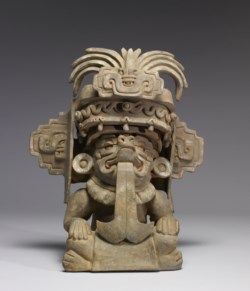 WALTERS: Zapotec: Effigy Urn of Cocijo 300