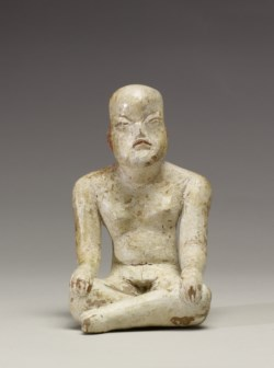 WALTERS: Olmec: Seated Figurine -1200
