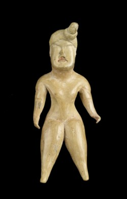 WALTERS: Olmec: Standing Figure with Topknot -1200