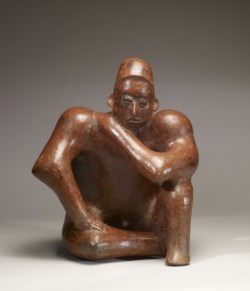 WALTERS: Jalisco: Seated Male Figure -300