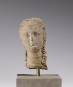 WALTERS: Greek: Head of a Woman with Long Curls -300