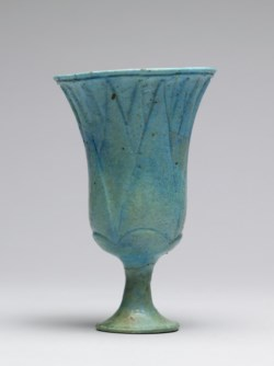 WALTERS: Egyptian: Lotus Chalice -1300