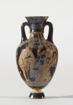 WALTERS: Bulas Group (Greek): Miniature Panathenaic Amphora -400