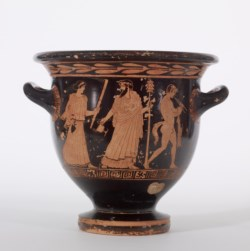 WALTERS: Christie Painter (Greek, active ca. 450 BC-420 BC) (?): Red-Figure Bell Krater -450
