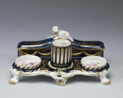 WALTERS: Chelsea Porcelain Factory (English, active ca. 1745-1784): Inkstand 1759