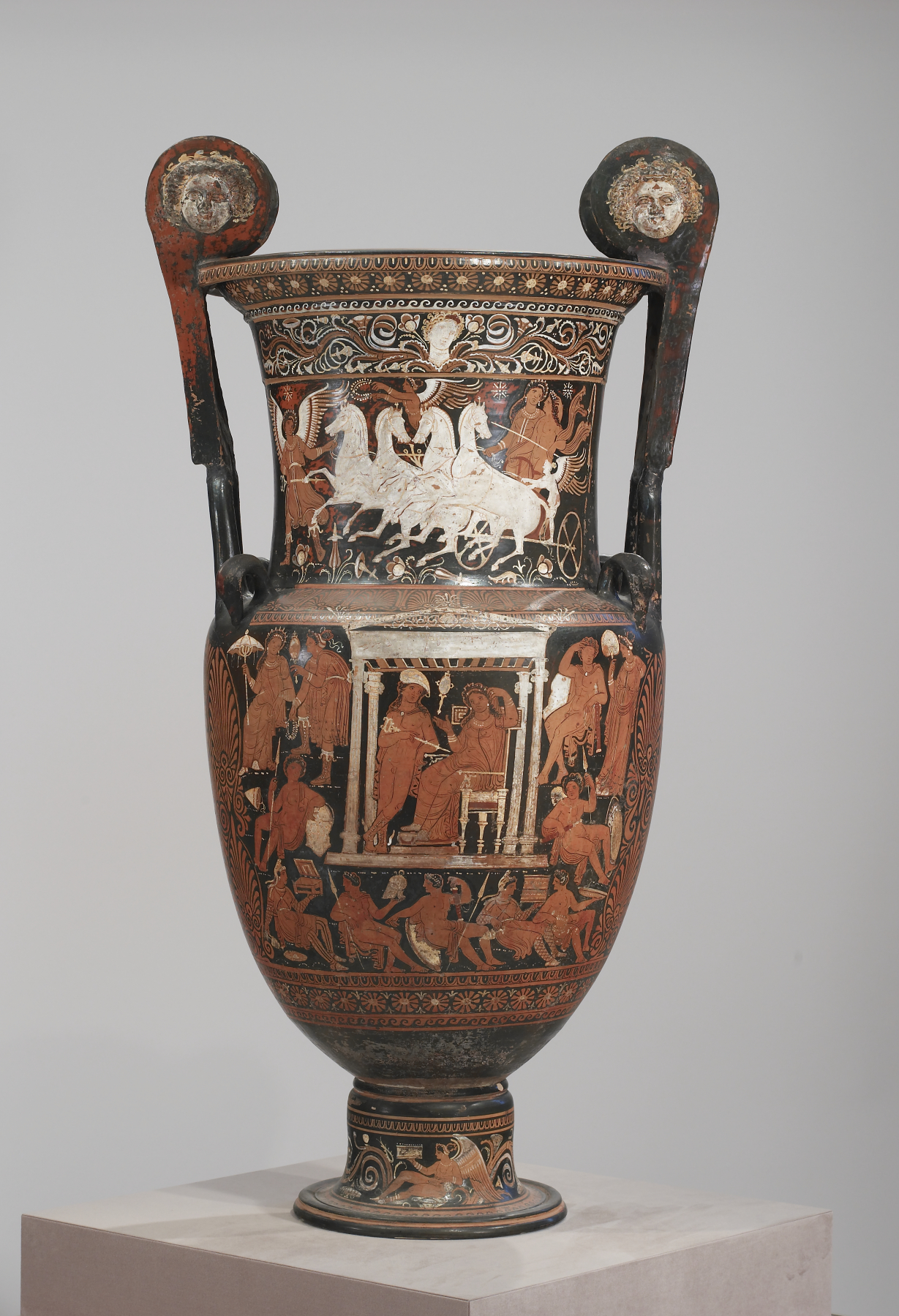 Volute Krater with Hermes in the Underworld