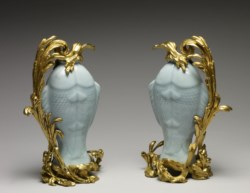WALTERS: Chinese: Pair of Vases in the Form of Twin Fish 1725