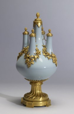 WALTERS: Chinese: Five-Stemmed Vase 1730