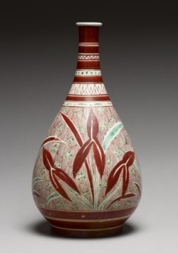 WALTERS: Japanese: Bottle with Omodaka Plant 1660