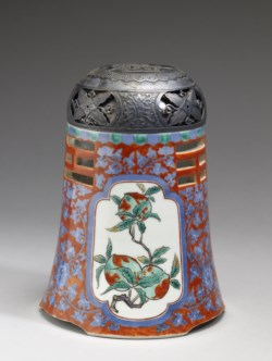 "WALTERS: Japanese: Incense Burner (""Koro"") with Chinese Trigrams for Fire and Mountains 1800"