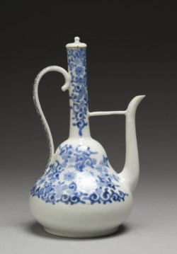 WALTERS: Japanese: Ewer with Formal Floral Designs 1825