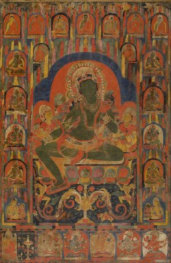 WALTERS: Tibetan: The Savior Goddess Tara and Other Deities 1063