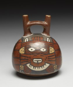 WALTERS: Nazca: Stirrup-spout Bottle 200